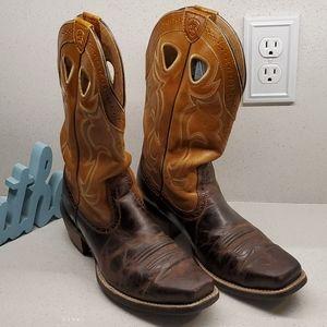 """ARIAT mens cowboy boots (sz 9.5""""D)"""
